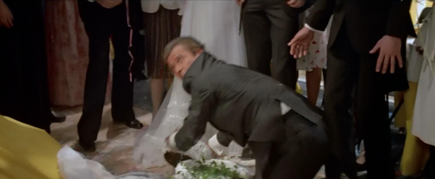 James Bond View To A Kill Wedding Cake